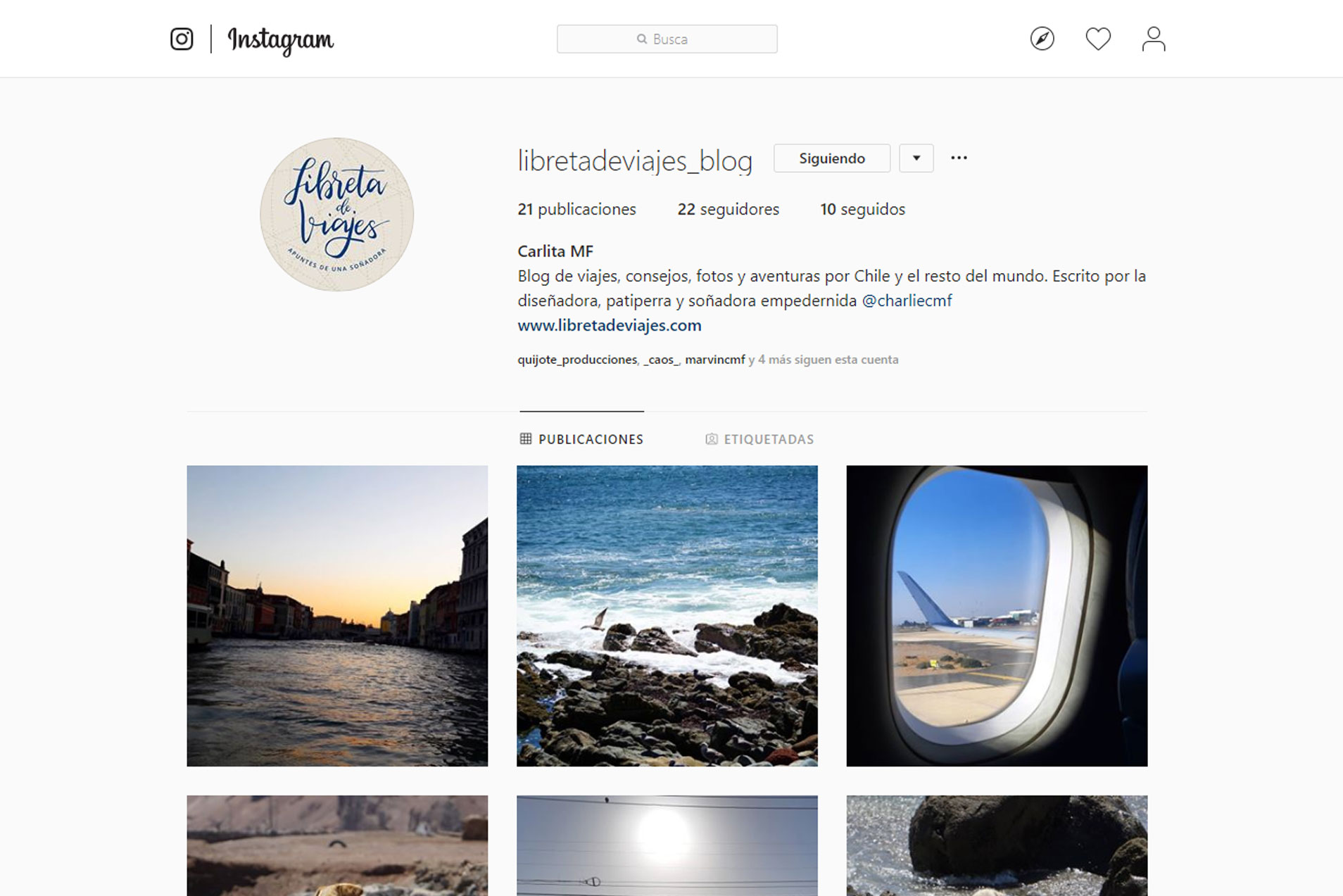 Tenemos Instagram Oficial
